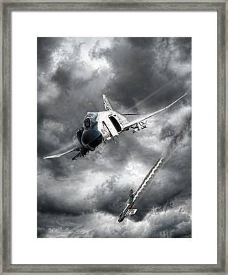 Mig Killer Framed Print by Peter Chilelli