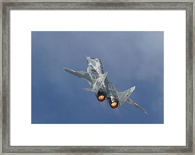 Mig29 - Fulcrum Framed Print by Pat Speirs