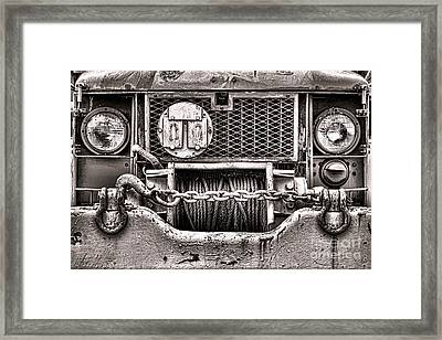 Mighty Framed Print by Olivier Le Queinec