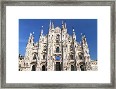 Milan Cathedral  Framed Print by Antonio Scarpi