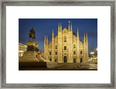 Milan Duomo Framed Print by Brian Jannsen