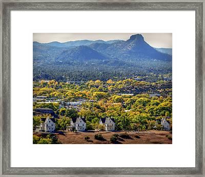 Mile High Autumn Framed Print by Aaron Burrows