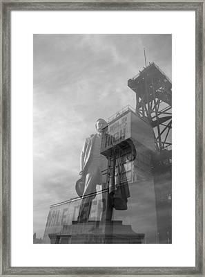 Mile High Mile Deep Framed Print by Kevin Bone
