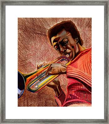 Miles In Color 3 Framed Print by Dallas Roquemore