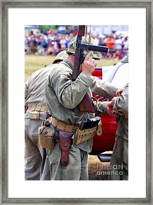 Military Small Arms 04 Ww II Framed Print by Thomas Woolworth