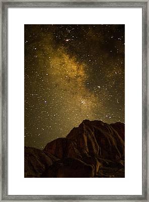 Milky Sky Framed Print by Mike Schmidt