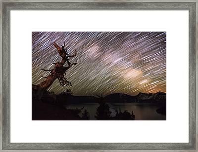 Milkyway Framed Print by Yoshiki Nakamura