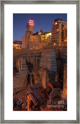 Mill Ruins Park Framed Print by Kent Taylor