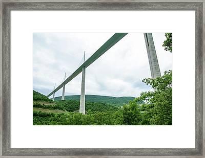 Millau Viaduct Framed Print by Photostock-israel