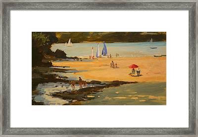 Millbay Framed Print by Jennifer Wright