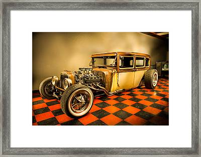 Millers Chop Shop 1929 Dodge Victory Six After Framed Print by Yo Pedro