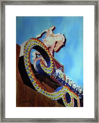 Million Dollar Cowboy Framed Print by Kris Parins