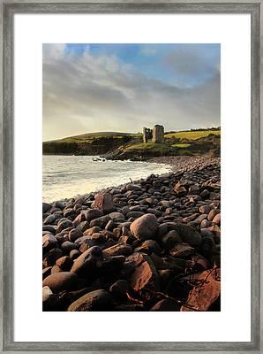 Minard Castle Framed Print by Mark Callanan