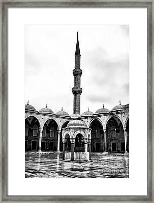Minaret Framed Print by John Rizzuto