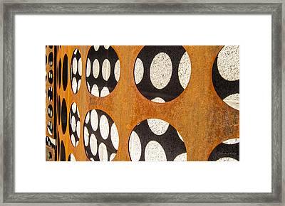 Mind - Dimensions Framed Print by Steven Milner