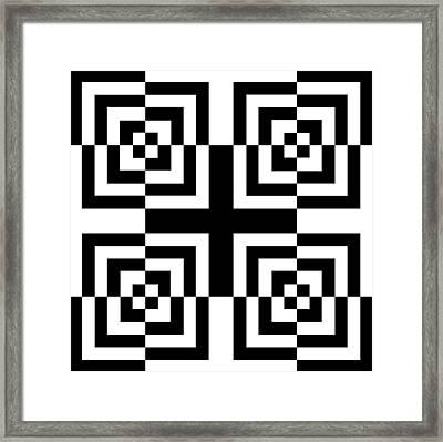 Mind Games 13 Framed Print by Mike McGlothlen