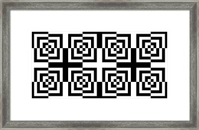 Mind Games 14 Framed Print by Mike McGlothlen