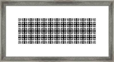 Mind Games 42 Framed Print by Mike McGlothlen