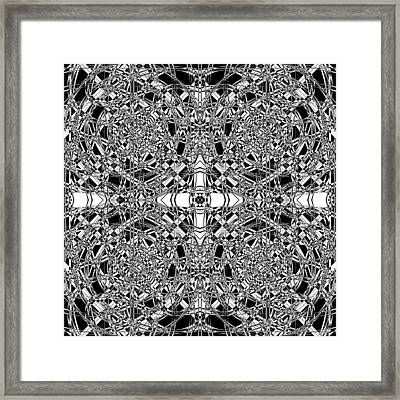 B W Sq 5 Framed Print by Mike McGlothlen