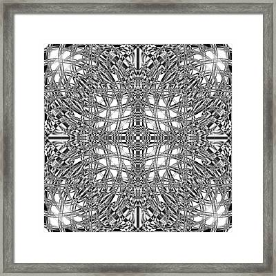 B W Sq 9 Framed Print by Mike McGlothlen