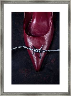 Mind Your Steps Framed Print by Joana Kruse