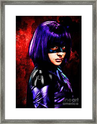 Mindy Macready Framed Print by The DigArtisT