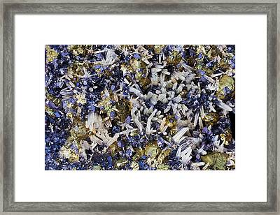 Mineral Combination Framed Print by Dirk Wiersma