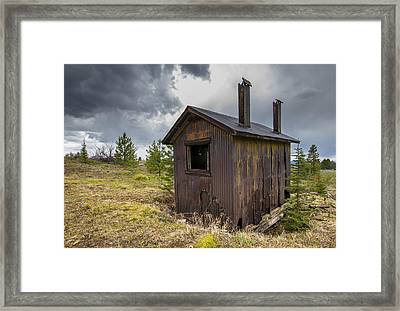 Miners Shack Framed Print by Fran Riley