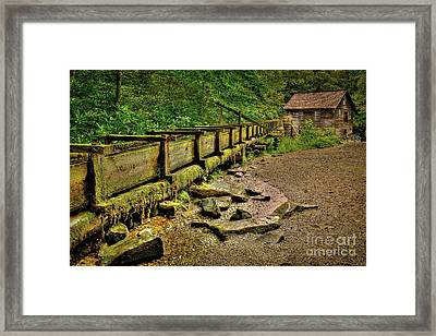 Mingus Mill Framed Print by Reid Callaway