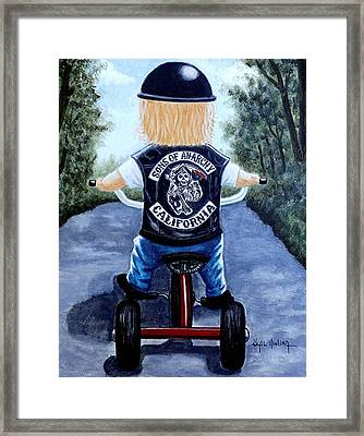 Mini Mayhem Framed Print by Al  Molina