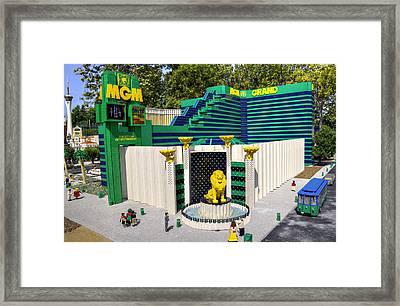 Mini Mgm Grand Framed Print by Ricky Barnard
