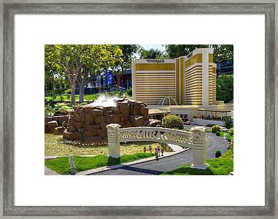 Mini Mirage Framed Print by Ricky Barnard