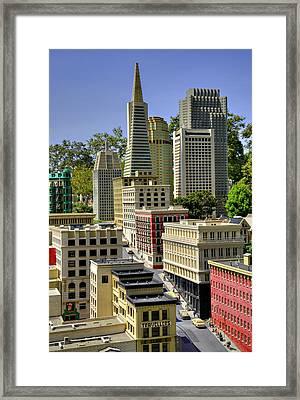 Mini San Fransisco Framed Print by Ricky Barnard