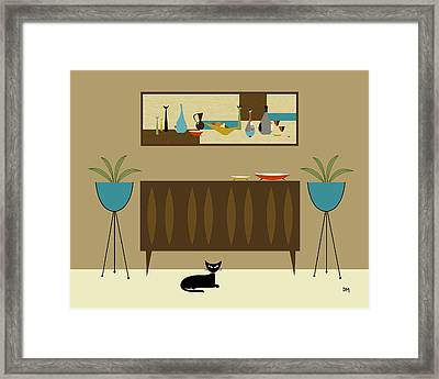 Mini Still Life Framed Print by Donna Mibus
