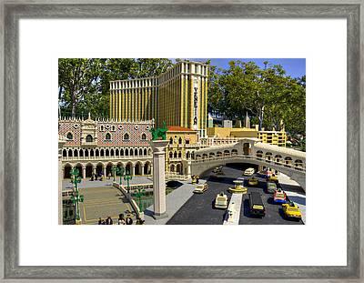 Mini Venetian Framed Print by Ricky Barnard