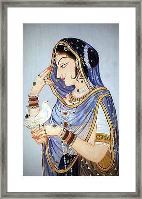 Miniature Closeup Framed Print by Mayur Sharma