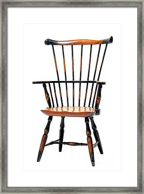 Miniature Windsor Armchair  Framed Print by Olivier Le Queinec