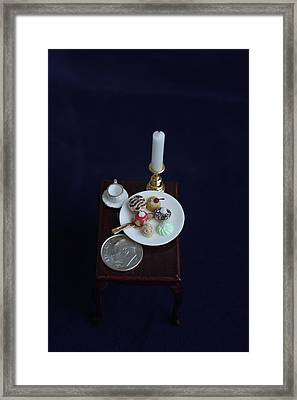 Miniatures O O A K Framed Print by David Bearden