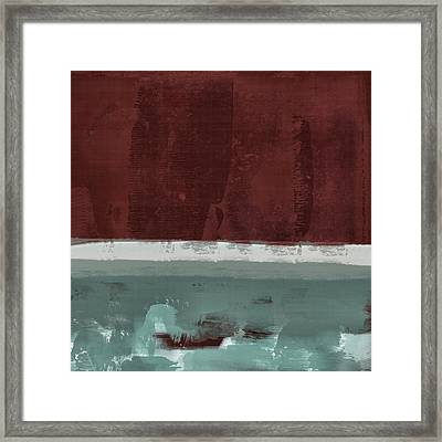 Minima - Brg01dd Framed Print by Variance Collections