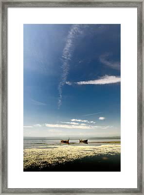 Minimal Framed Print by Okan YILMAZ