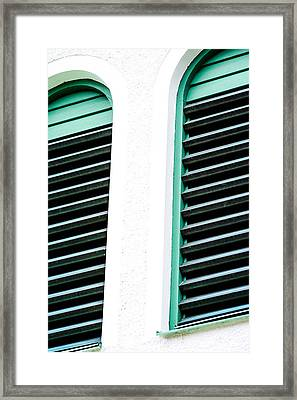 Minimalist Picture Window Framed Print by Toppart Sweden