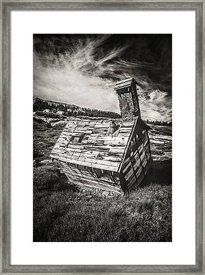 Quartz Mountain 4 Framed Print by Yo Pedro