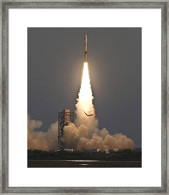 Minotaur I Launch Framed Print by Science Source