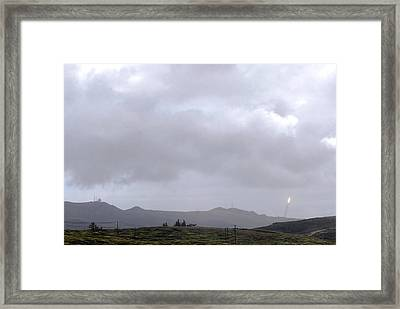 Minotaur Iv Lite Launch Framed Print by Science Source