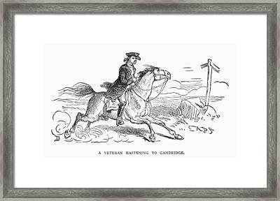 Minuteman, C1775 Framed Print by Granger