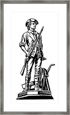 Minutemen Framed Print by Granger