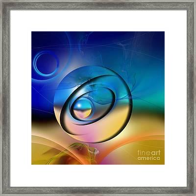 Mirage Framed Print by Franziskus Pfleghart