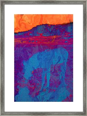 Mirage Framed Print by Jan Amiss Photography