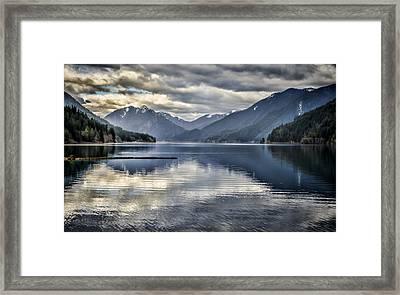 Mirror Image Framed Print by Heather Applegate