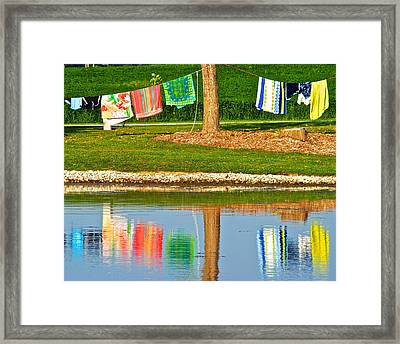 Mirror Image Framed Print by Frozen in Time Fine Art Photography